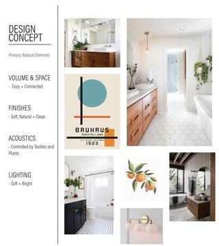 Emerald Street Addition - Bathroom Design Concept Board