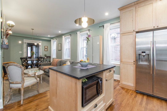 51st Street Twin - Open Concept Custom Kitchen