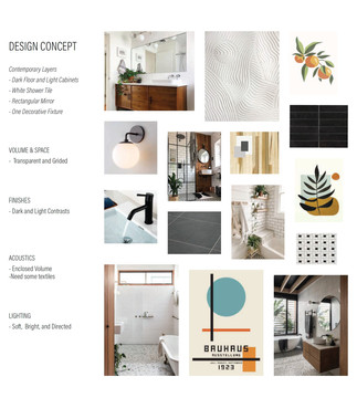 Chelten Ave Duplex - Bathroom Concept Board