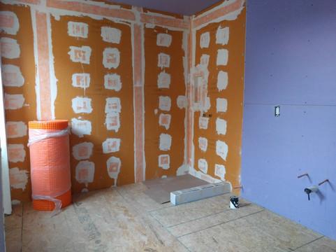 51st Street Twin - Master Bathroom In Progress