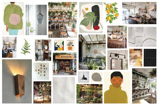 D.I.T.O Café Concept Board