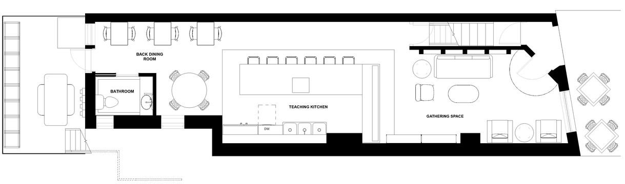 D.I.T.O Café -  First Floor Plan