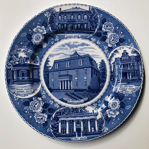 Mott Staffordshire Plate