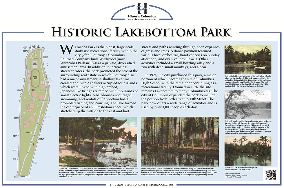 Lakebottom Park Historic Columbus