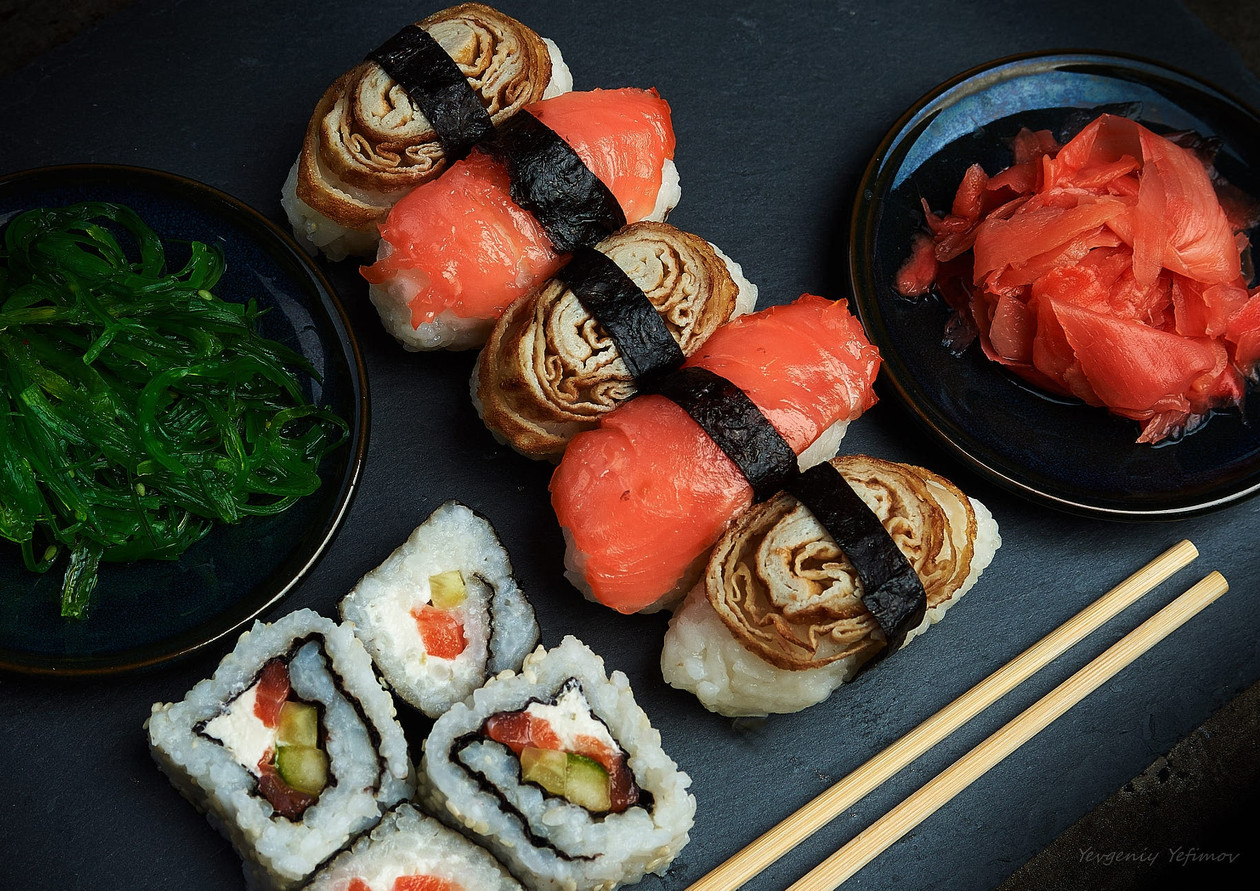 Sushi bridges & boat