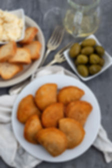 Canva - typical portuguese snack with me