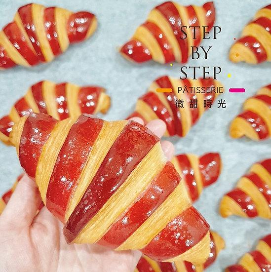 【微甜時光】綜合莓果可頌 (一袋5入)