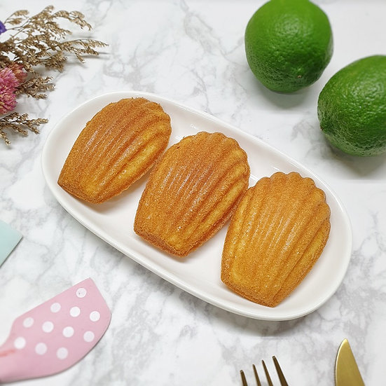 Lemon Madeleines 檸檬瑪德蓮 (六入)