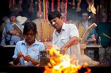 Photo VIETNAM - EXPO PHOTO VIETNAM - TEMPLE VIETNAM - PRIERE VIETNAM