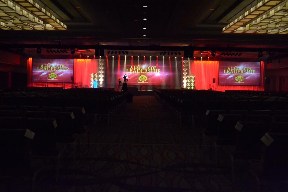 Opening Session Stage