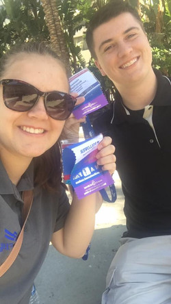 Allison and Holden supporting the March of Dimes