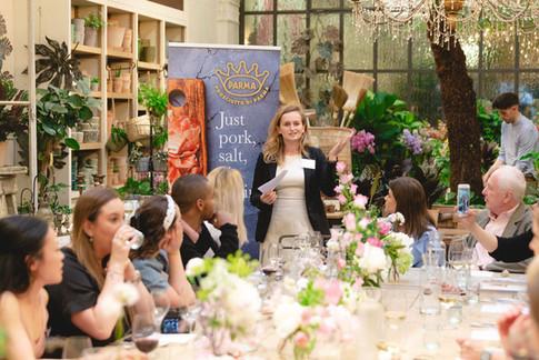 Eventos de prensa: Prosciutto di Parma en Petersham Nurseries, 2019