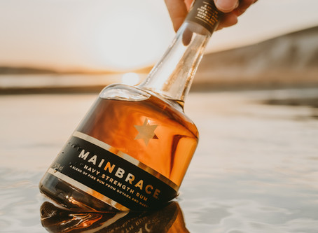 Mainbrace launches it's limited edition Navy Strength Rum