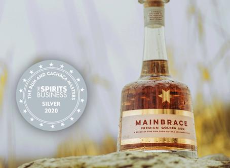 The Rum Masters have spoken: Mainbrace Rum wins prestigious silver award