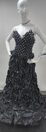 Black rubbish bag dress.jpg