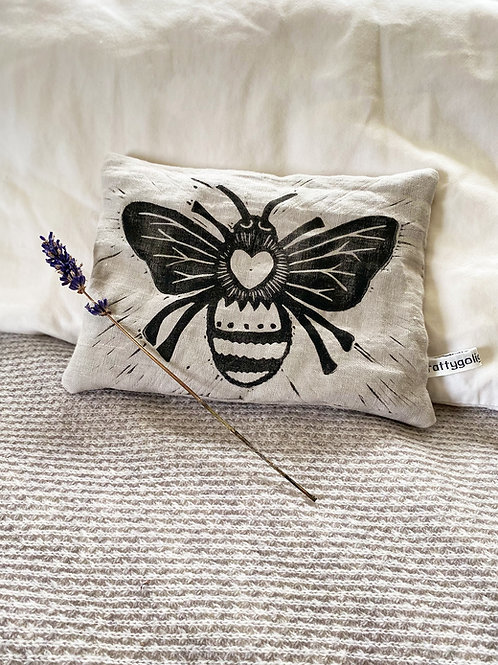 Queen Bee Lavender Pillow