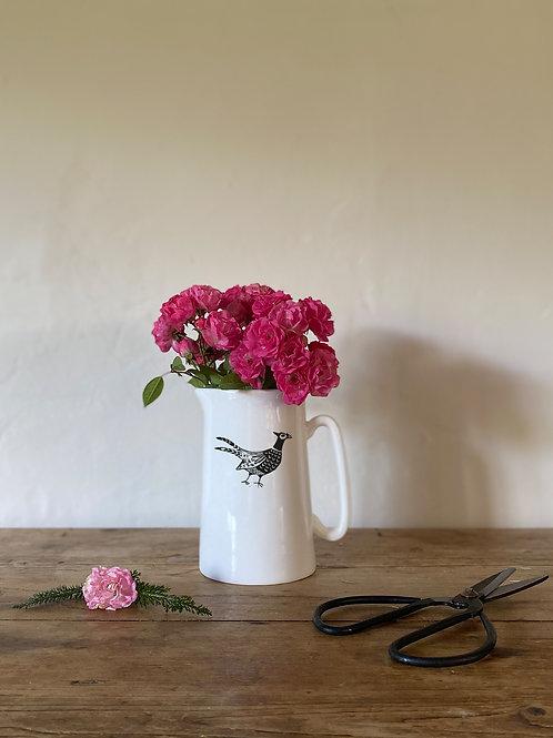 Pheasant print 1/2 pint jug