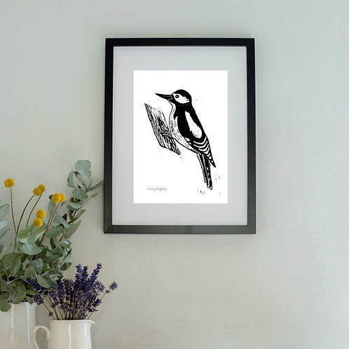 Woodpecker Wall Art Print