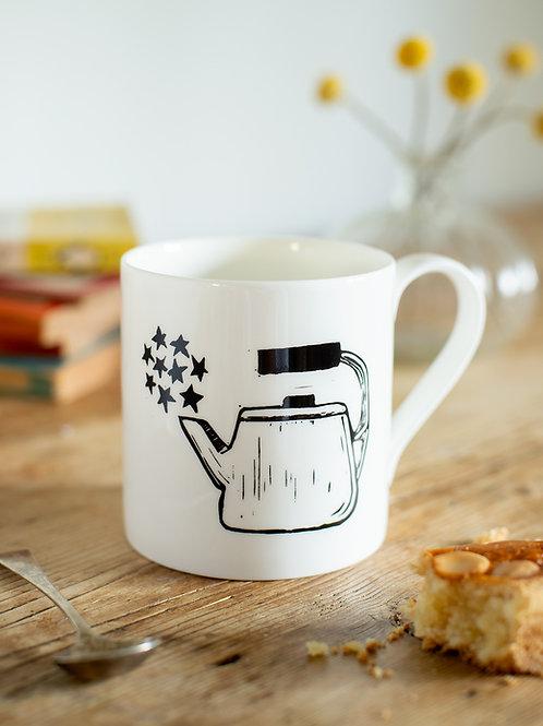 Scandi Teapot Mug