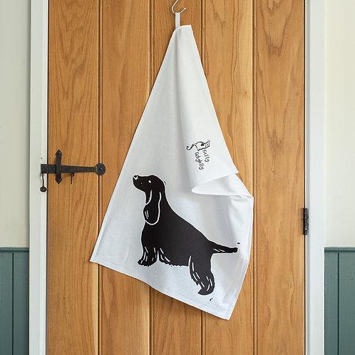 Cocker Spaniel Tea Towel