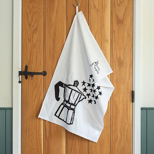 Moka Pot Tea Towel