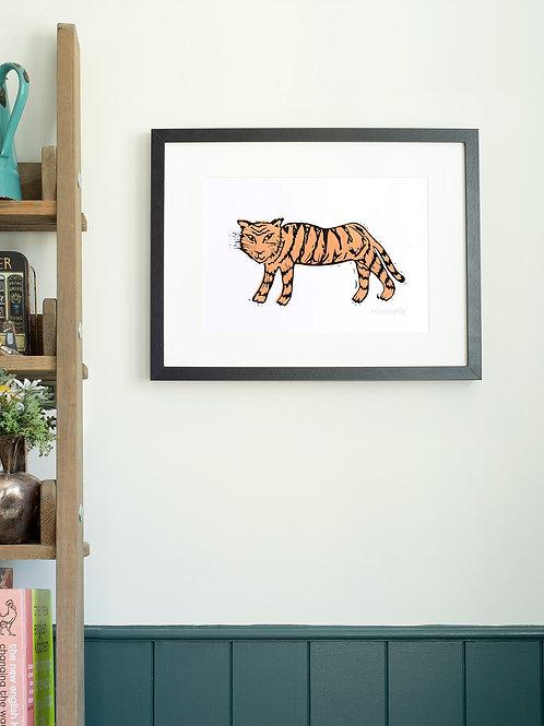 Tiger A4 Wall Art Print
