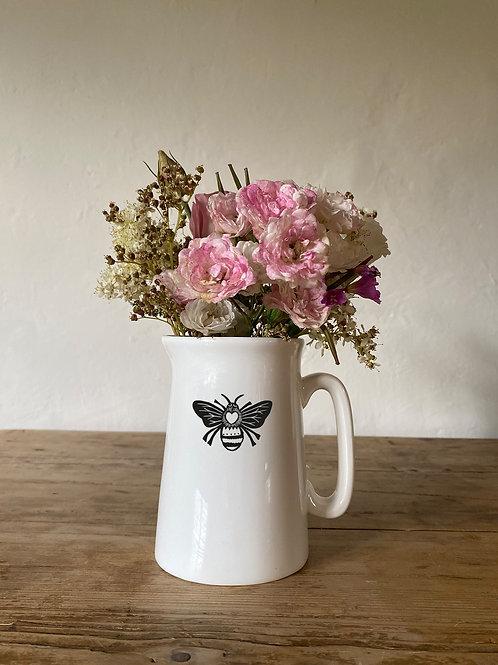 Queen Bee print 1/2 pint jug