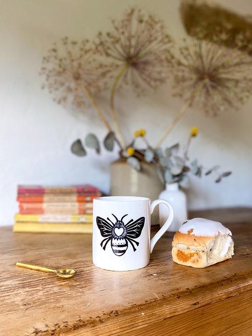 Queen Bee Bone China Mug