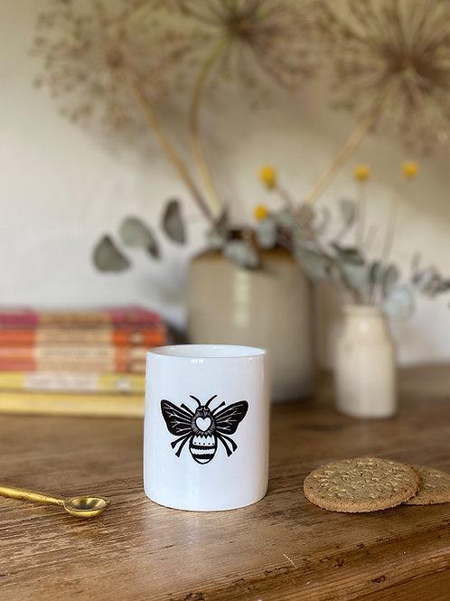 Queen Bee Print Beaker