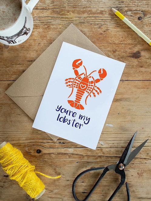 Lobster Love Greeting Card