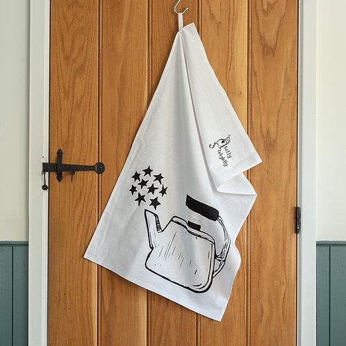 Scandi Teapot Tea Towel