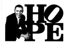 Obama HOPE (Black/White)