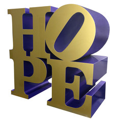 HOPE (Gold/Royal blue)