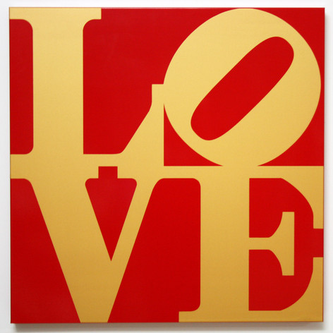 LOVE (Gold/Red)