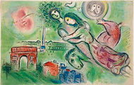 Marc Chagall_Romeo and Juliet_66x101.6cm