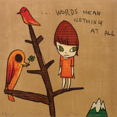 Words Mean Nothing At All
