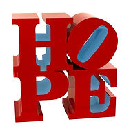 Robert Indiana_Hope sculpture Red Light