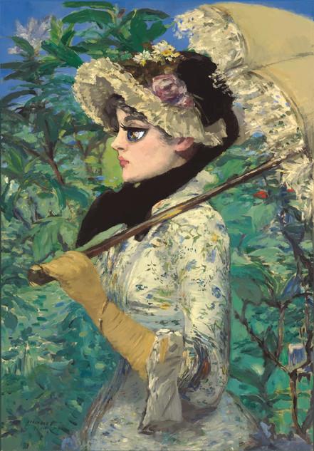 Spring (homage of Edouard Manet)