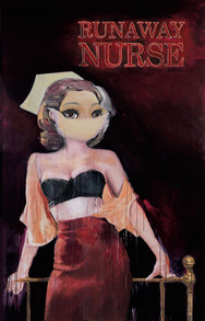 Run way nurse (homage of Richard Prince)