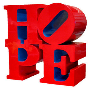 HOPE (Red/Blue)