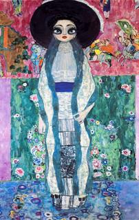 Adele (homage of Gustav Klimt)