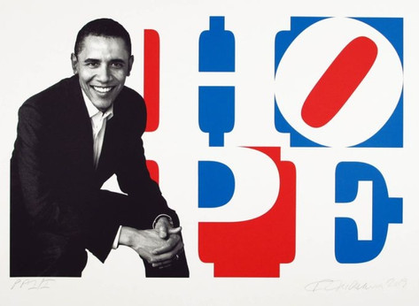 Obama HOPE (Red/White/Blue)