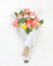 Coral Roses Bouquet