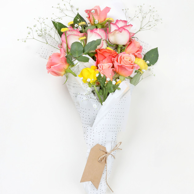 Bouquet Coral Roses