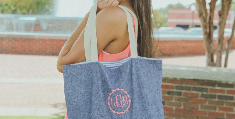 Chambray Everyday Bag