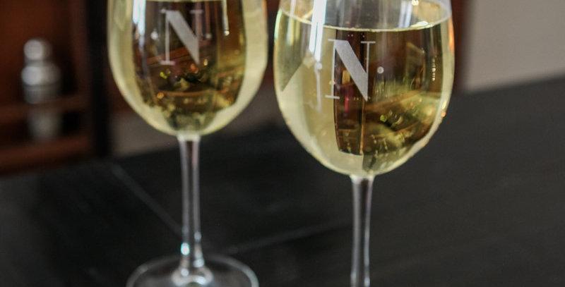 STEMMED WHITE WINE GLASS (SET OF 4)