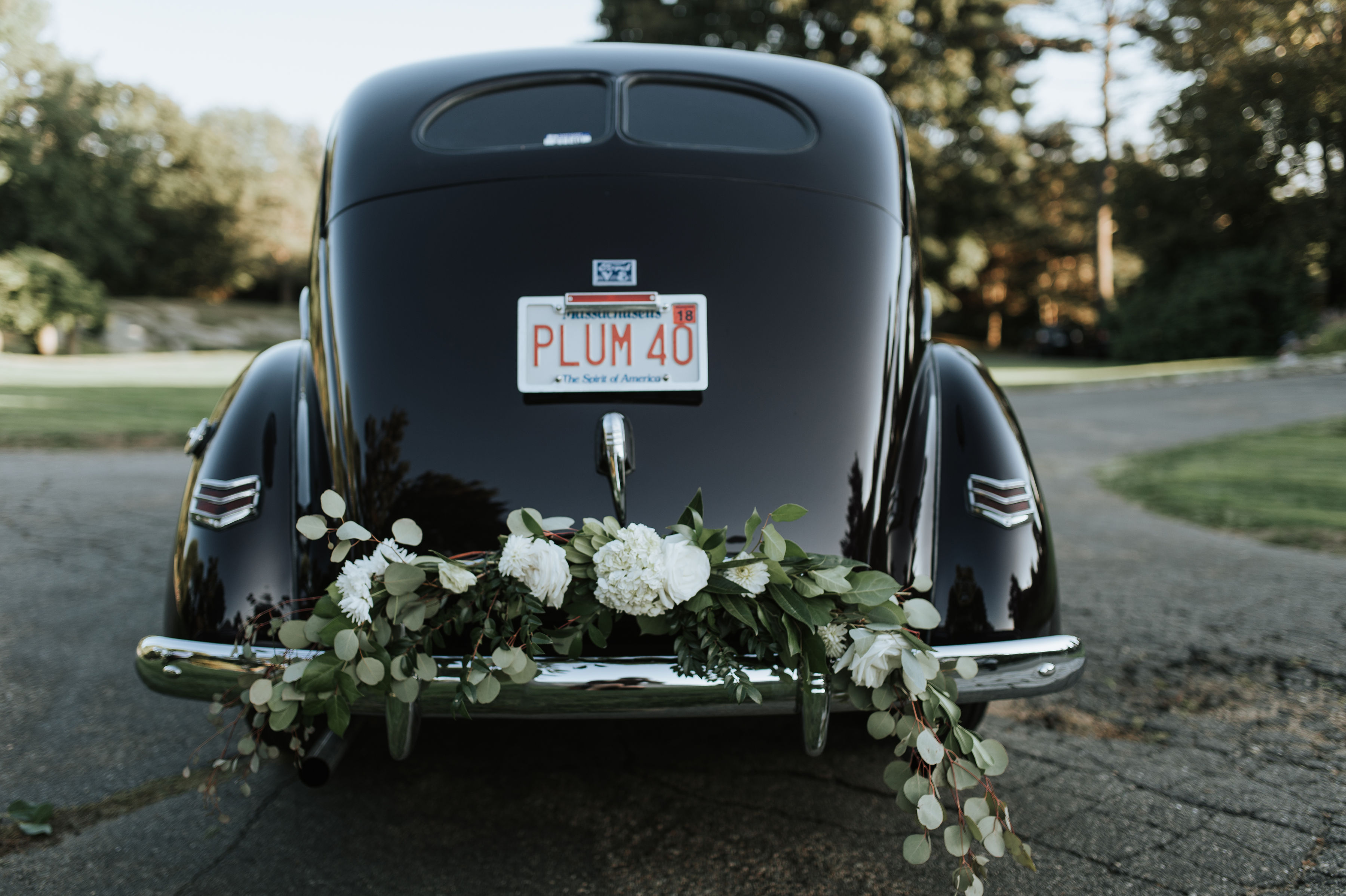 getaway car decor