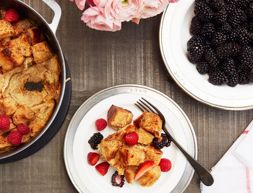 Cinnamon French Toast Bread Pudding, The Goop
