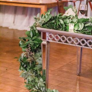 floral table design