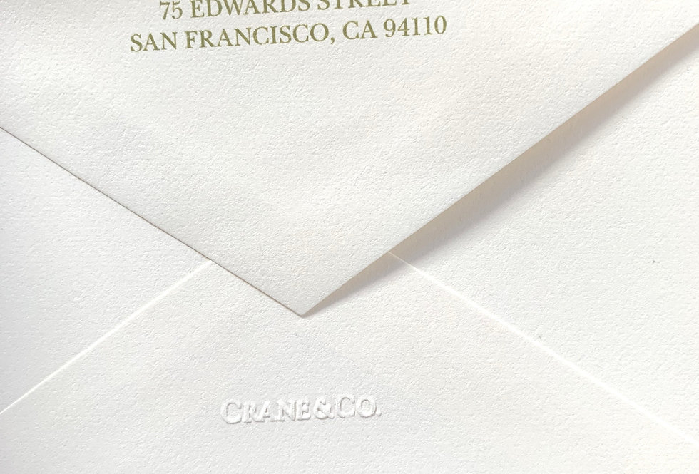 Return Address on Envelopes Add-on